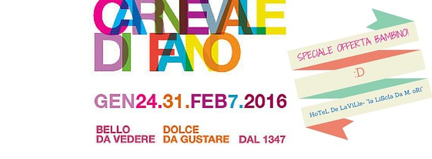 Carnevale di Fano Programma 2016